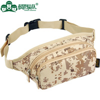 Casual small waist pack male chest pack sports outdoor bag mobile phone ride hiking waist pack