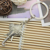 Min order $15 Free shipping fashion elephant charms key chain for men and women .TOP quality cheap jewelry wholesale