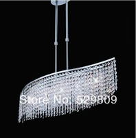 Free shipping modern crystal chandelier  L60cm*W20mm*H20mm G9 dining room lights