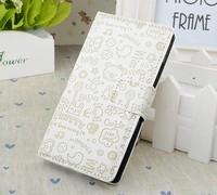 Fashion Cute Magic Girl  FLIP PU Leather case cover For Nokia Lumia 620 Multicolor 1pc/lot  Free shipping