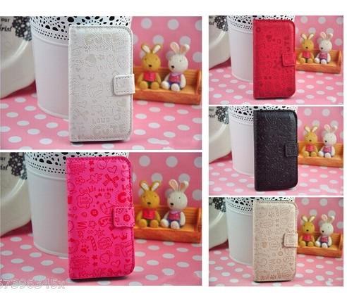 For Nokia Lumia 720 Multicolor Fashion Cute Magic Girl FLIP PU Leather case cover 1pc/lot Free shipping(China (Mainland))