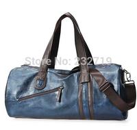 new 2014 casual trend of the color block one shoulder bag multi-purpose cross-body bag men travel bag 120230