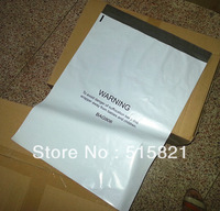 New MADE BAG906-[200pcs]  overal 39X55CM OR 15.3X21.6inch  White poly mailer bags shipping envelopes one side print