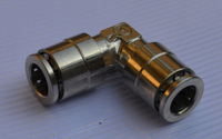 Pneumatic fittings,MPUL 6MM,Fast shipping ,Metal One touch fitting , Brass plated-Nickle pneumatic fitting .,