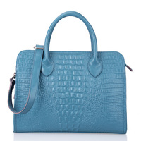 Leather bag 2013 crocodile pattern genuine leather women's handbag casual handbag cross-body women's handbag