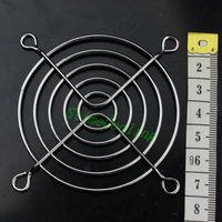 Freight free 50pcs / set New Metal Steel 70mm 7cm Fan Protector Finger Guard Grill Net