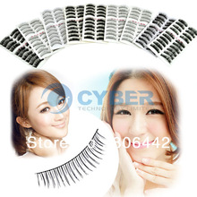 Hot Sell 90Pairs 9 Style False Eyelashes Eyelash Fake Eye Lashes ( Cross, Nature, Thick, Thick &Long ) 8423(China (Mainland))