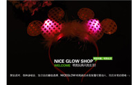 Cartoon hairpin / LED card / luminous horn / light-emitting headband luminous toys,toys,glow in the dark party supplies