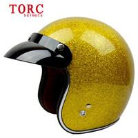 Free shipping motorbike helmets open face TORC helmet casco moto vintage motorcycle helmets capacete da motocicletaT50 M~XXL