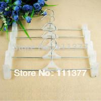free shipping plastic slip-resistant pants clip hanger