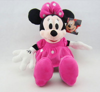 35cm pink minnie mouse plush doll plush toy  birthday gifts christmas gifts one piece free shipping