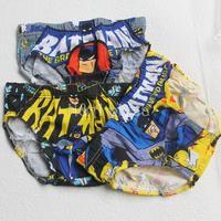 Cartoon 3 pcs/Lot Batman Baby Boy Underwear Pants Kids clothing Children Clothese baby wear