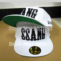 Free Shipping Running man gary leessang hiphop ssang white color baseball cap