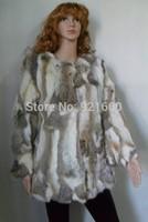 fur vest rabbit fur outerwear fashion trend winter fur leopard grain quality Lady fur couture rabbit fur women clothings