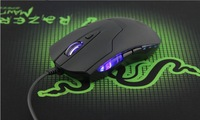 New Arrival Hot Sale Cobra Optical 1600 DPI USB Wired Gaming Game Mouse For Games PC Laptop Wholesale 10PCS/LOT