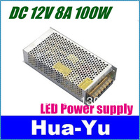 Free shipping+1pcs 12V 10A 120W Switching Power Supply,110V/220V AC input,12V Output for LED Strip Light for CCTV camera