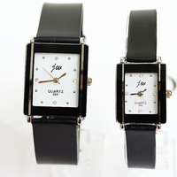 New 2013 Hot Sale Popular Fashion 4 Rhinestone Watches Silicone Wrist Quartz Lovers Men Women Girl Unisex Free shipping