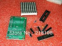MAX7219 Dot Matrix Module Display DIY kit SCM Control for   Free Shipping Wholesale