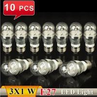 Free Shipping, E27 3W White/Warm White Energy Saving LED Candle Light Bulb 85-265V