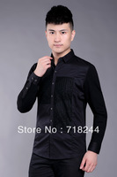 2013 Hitz genuine brand men's men's long-sleeved shirt wholesale distribution of men's shirts long shirts