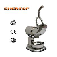 SHENTOP Ice crusher full stainless steel ice shaver  ice machine ice machine bubble tea machine  ZY-SB114