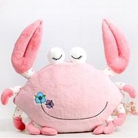 Hpp&Lgg Brand cute crab pillow,Creative plush toy crab cushion,big crab stuffed animals pillow,hot sale gift toys free shipping