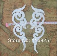 Hydrotropic diy flower lace motif ,applique decoration cravat clothes wedding dress formal dress accessories fabric