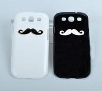Cute Man Mustache Moushtache Case Cover for Samsung Galaxy S3 s 3 III I9300