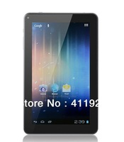 Retail new 9.2Inch A13 5 Point Capacitive Screen Dual Camera Wifi 8GB Android 4.0 Tablet PC 017654 Free Shippoing