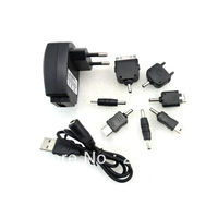 EU USB Wall Charger Power Plug +DC connector For Samsung ,blackberry