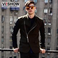 viishow2013 Autumn new European and American style street tide male coat male coat male coat coat Slim