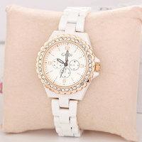 Relojes Wholesale Fashion Charm Style Rhinestone Women Rose Gold Luxury Free Shipping Women Dress Watches Dress Watch
