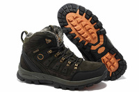 FREE SHIPPING! New 2013 Men Hiking Shoes Winter Warm Fur Snow Boots Outdoor Mountain Climbing Hiking Shoes Ankle Boots for Men