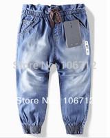2014 New children 's jeans cotton Denim kids jeans girls pants baby trousers size:2/3t 3/4T 4/5T 5/6T 7/8T 9/10T