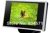 Free Shipping! Mini 3.5 Inch TFT LCD Car Rearview Color Camera DVD Monitor