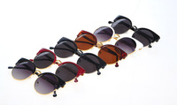 2014 New Fashion Vintage Cat Eye Women Sunglasses Retro Round Glasses Gafas Oculos Fashion Accessories