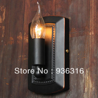 American brief vintage balcony bed-lighting nostalgic candle wall lamp Incandescent Bulbs  EDISON bulb E14 40W  FREE SHIPPING