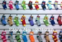 Wholesale 10 Pair/lot=20Piece 2013 New Cute Baby Socks/Kid Boys Slip-resistant Small Cartoon Floor Socks 1-6 Years Drop Shipping
