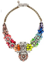 Free shipping fashion brand shourouk statement necklace resin necklace new arrive luxury jewelry for women choker necklace
