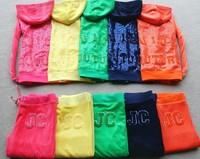 2013 new women velour tracksuits high quality paillette embroidery velvet set slim casual sweatshirt yoga sportswear
