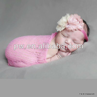 Grade 10 100% Cotton Newborn Photography Prop Soft Dying Cheesecloth Wrap Baby Cheese Cloth Blanket Photo Background