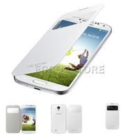 S-VIEW Flip Smart Wake/ Sleep Case Back Cover For Samsung Galaxy S4 I9500 IV