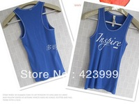 2013 spring and summer lorna thread jane all-match women's basic vest tank