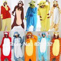 2014 New Arrival Pokemon Anime Pajamas Sangan Cosplay Costume Animal Pyjamas Sleepsuits Women Jumpsuits,Free/Drop Shipping