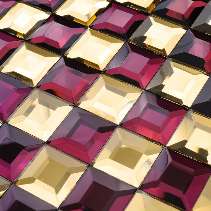 Shop popular purple bathroom designs from china aliexpress - Purple kitchen wall tiles ...
