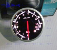2.5 INCH 60MM Auto Defi Gauge, car meter Oil Pressure Meter, RED and White Light