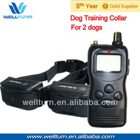 2013 New!!! 2PCS/Lot Range up to 1000M For 2 dogs China rechargeable dog training