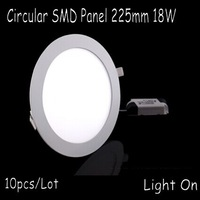 18W LED panel lamp round style 8inch LED in CE ROHS Certificate driver  Free shipping Hot