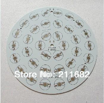 36W Round LED High Power Aluminum Plate / Ceiling Lamp Circuit Board / PCB Diameter 185mm 10PCS