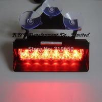 18W Strobe Lights With Suction Cups & Fireman Flashing Emergency Warning Car Light 3 Flashing Mode Free Shipping